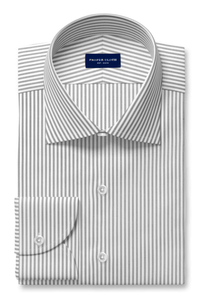 Proper Cloth gray striped dress shirt