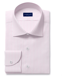 Proper Cloth light pink striped dress shirt