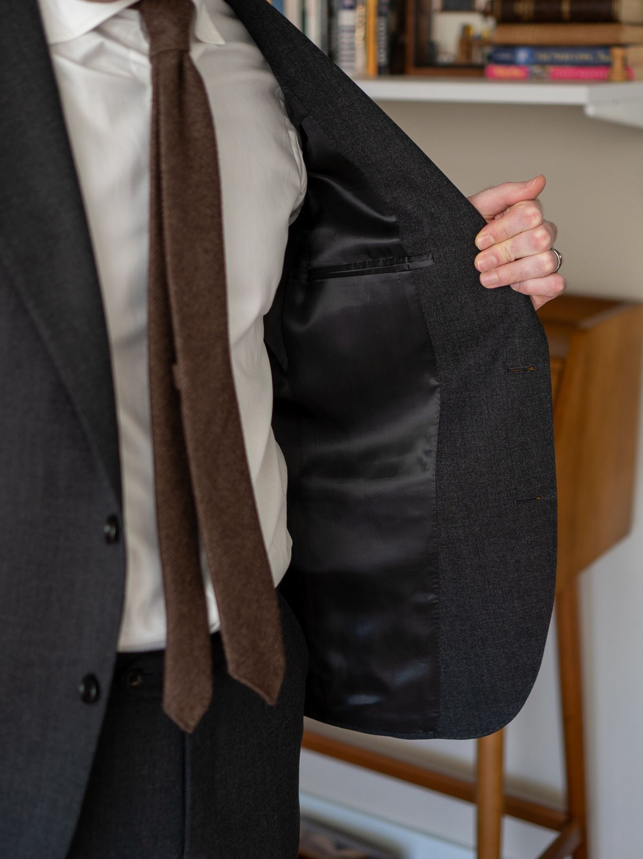 The lining of the Cavour winter hightwist suit