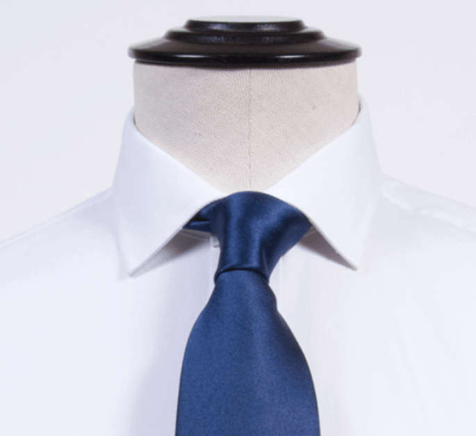 Proper Cloth Franklin Semi-Spread Collar