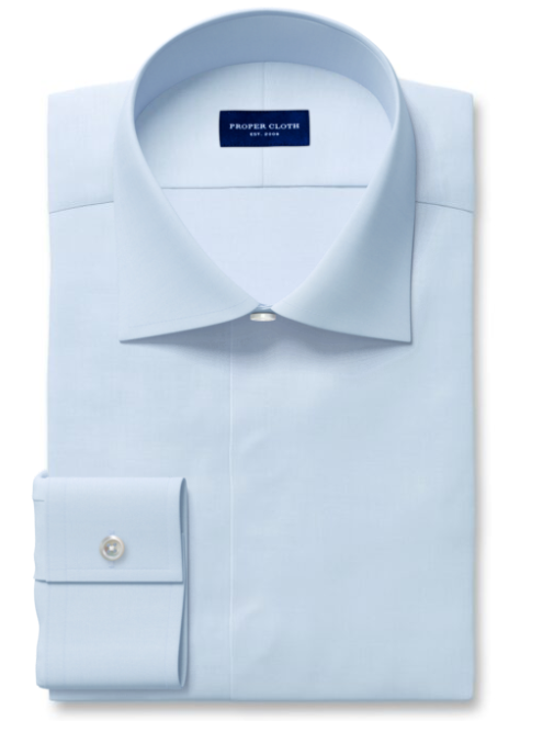 Proper Cloth Dress Shirt with covered placket