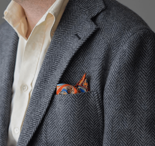 Burzanblog wears an Ecru Spier & MacKay dress shirt
