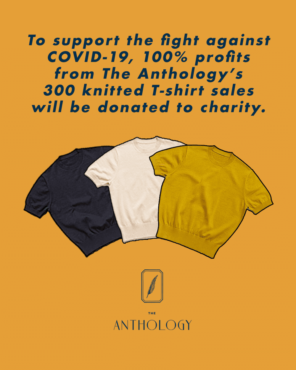 The Anthology COVID-19 Campaign poster