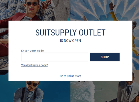 SUITSUPPLY Outlet Picks