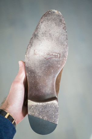 Right sole of J. Fitzpatrick Madrona Monk