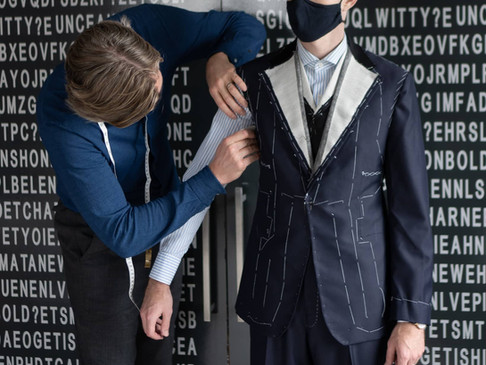 Cad & The Dandy Bespoke Suit: Introduction and Fittings