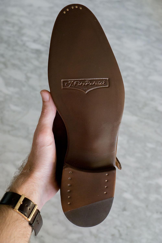 J. Fitzpatrick Madrona Single Monks sole