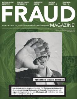 Fraud Magazine March 2021