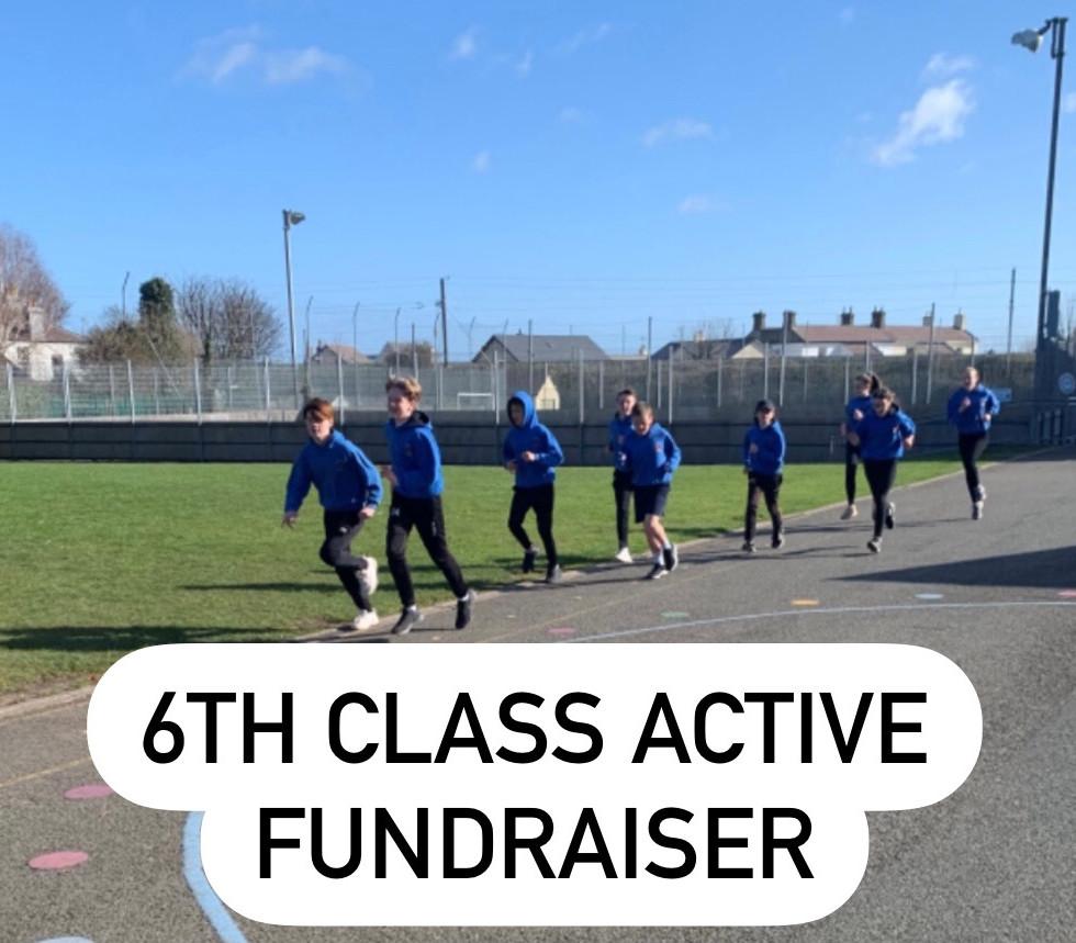 Sixth class active fundraiser