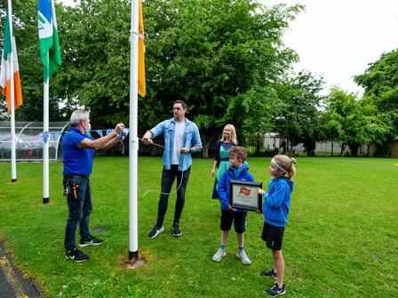 Amber Flag raised by Niall Breslin