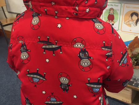 Happy Space Week from Senior Infants!