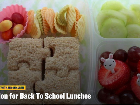 Do you need Inspiration for School Lunches?