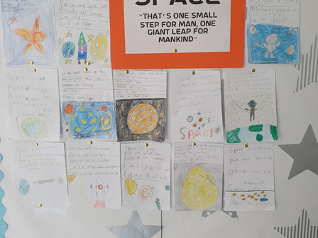 2nd Class Holly goes to Space!