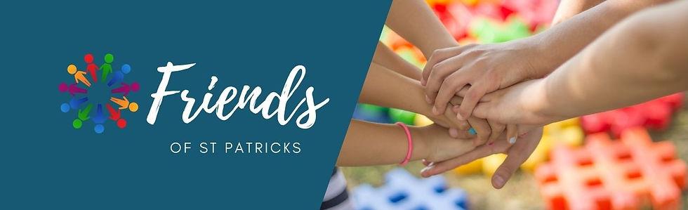 Website header Friends of St Patricks.jp
