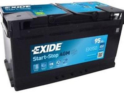 Exide AGM EK950 95Ah Autobatterie Starterbatterie