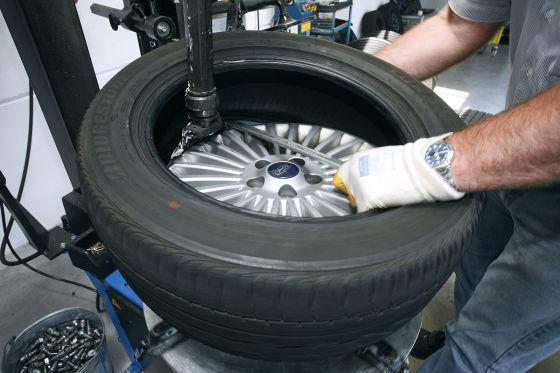 Reifenmontage inkl. Wuchten