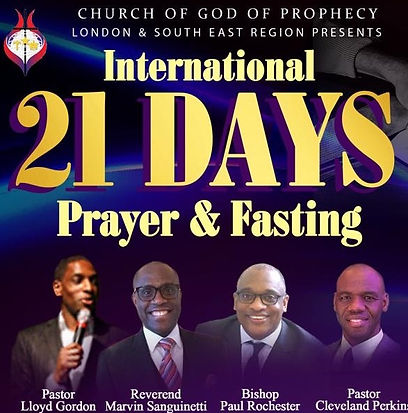 COGOP Region One 21 Days Prayer & Fasting