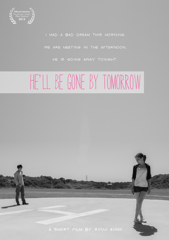 He'll be gone by tomorrow - 2014