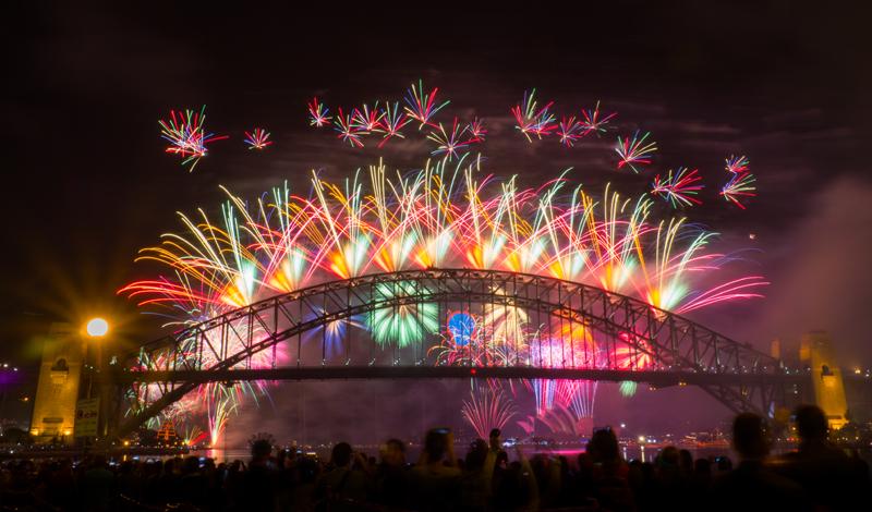 2015 NYE Firework, Sydney