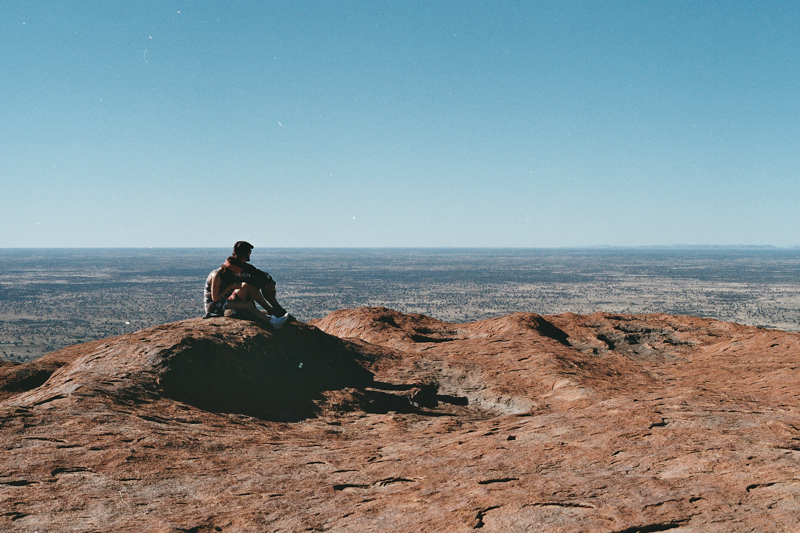Top of Ayers Rock, Alice Spring