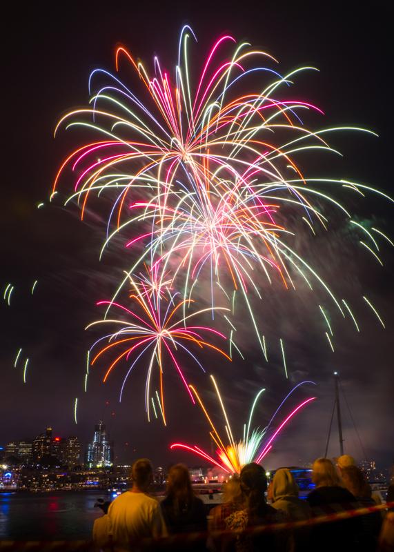 2014 NYE Firework, Sydney