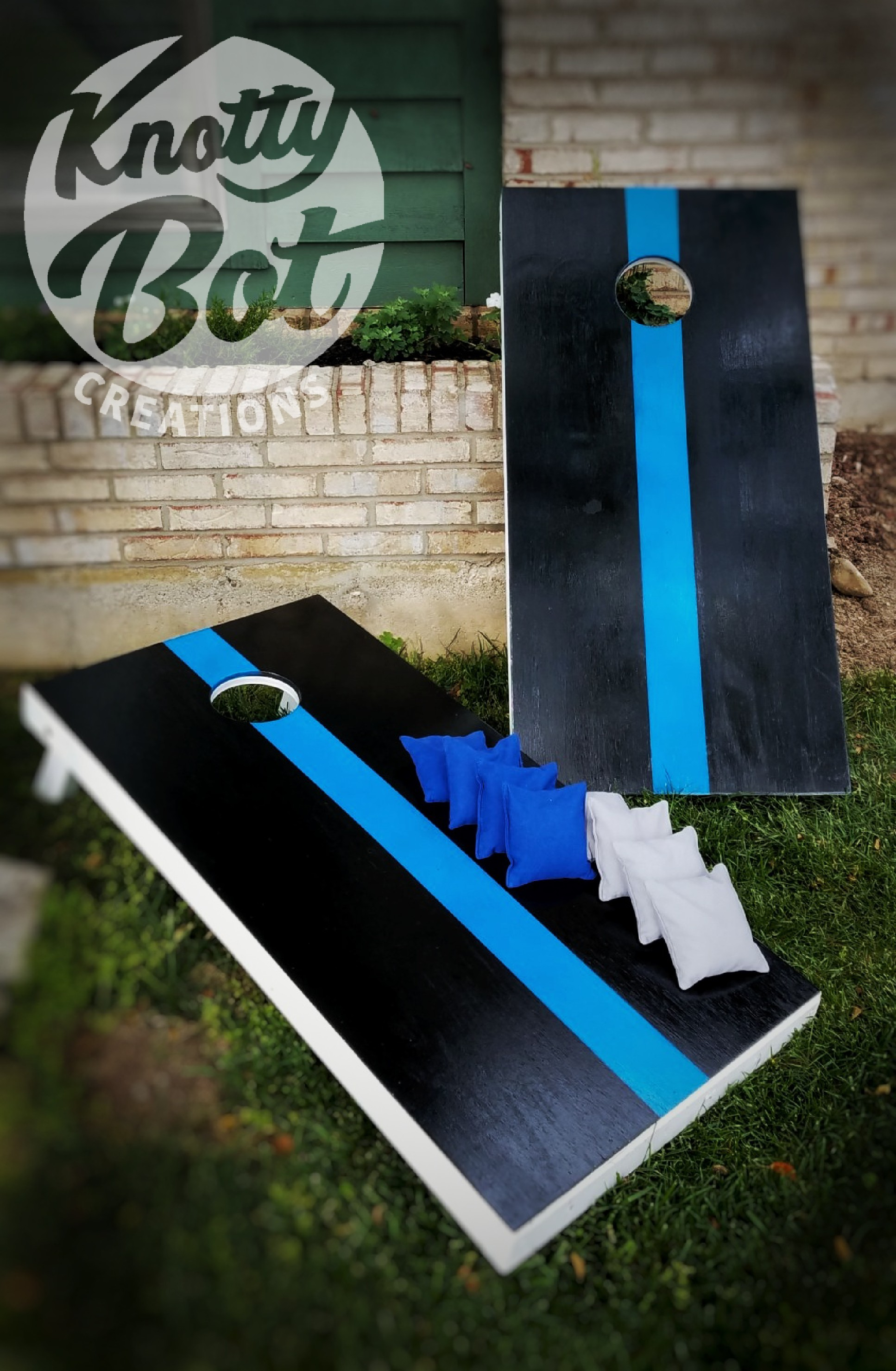 Thin Blue Line Support Conrhole Set