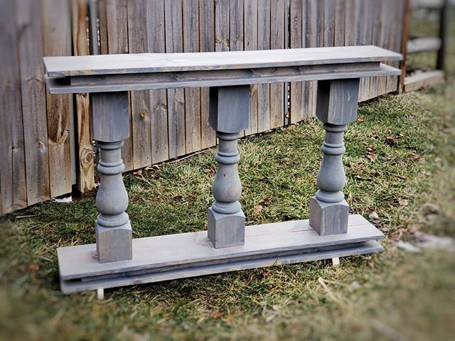 Country Squire Accent Table