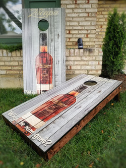 Ron Zacapa Rum Cornhole Set