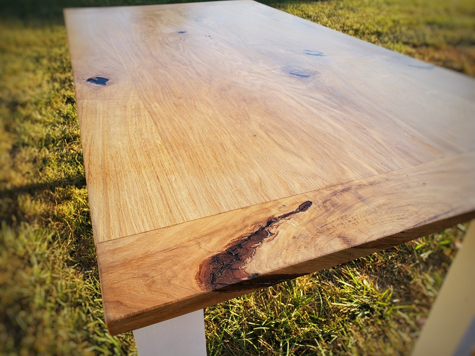 Barnwood 4 post table - 5ft