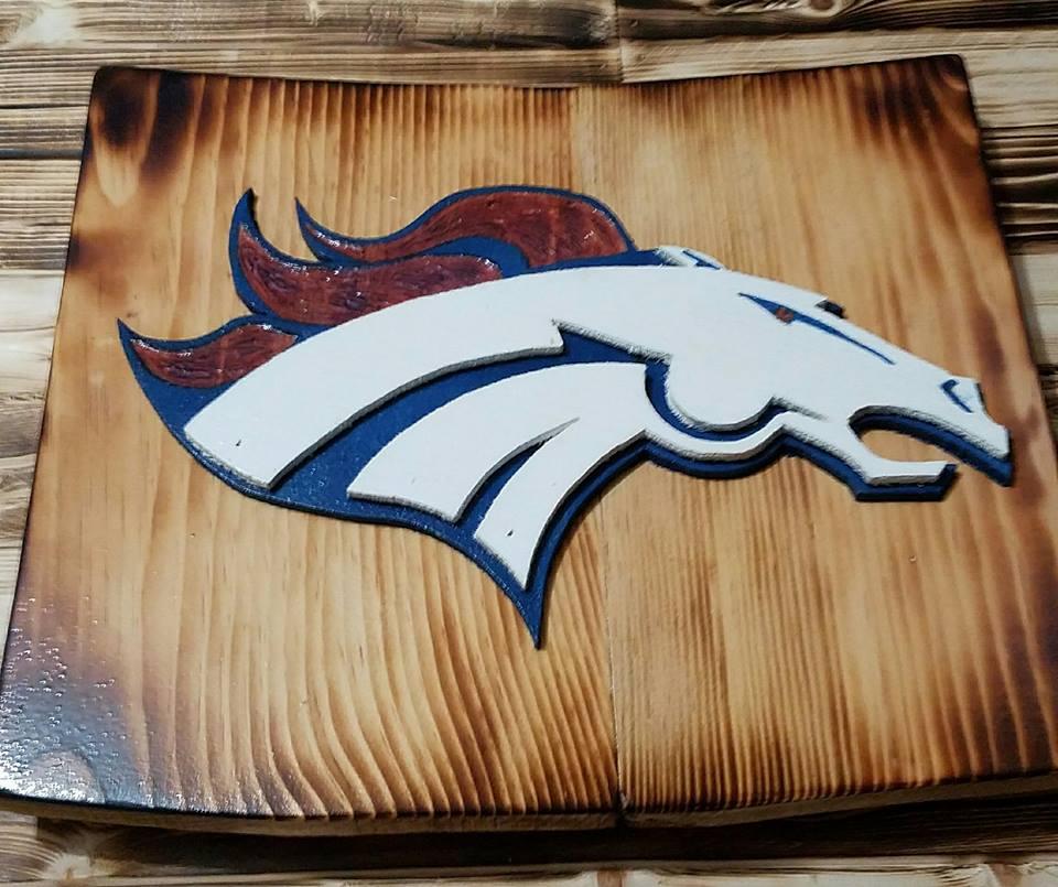 3D NFL Decor - Denver Broncos