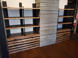 Product Shelving - Metal/Wood