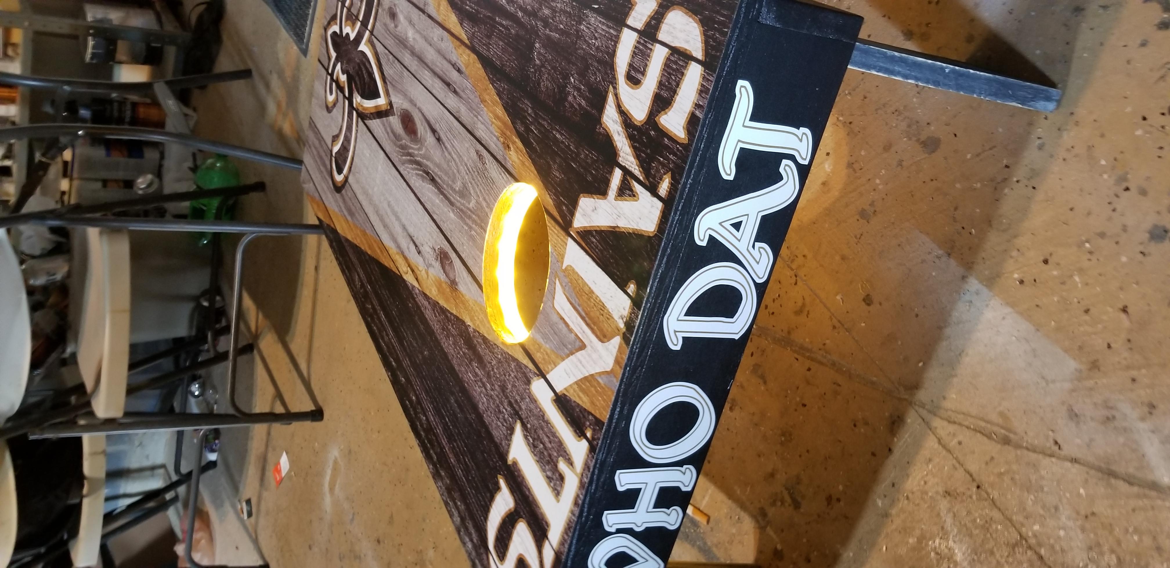 New Orleans Saints Cornhole Set