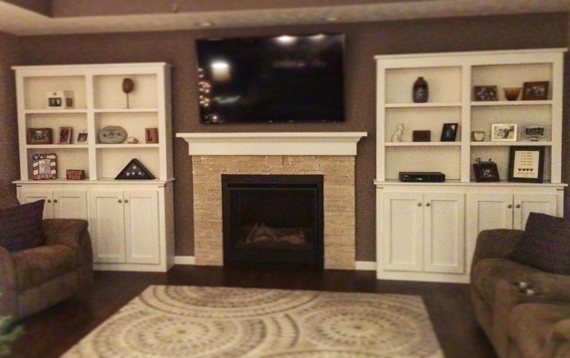 Matching Cabinets w/ Shelving