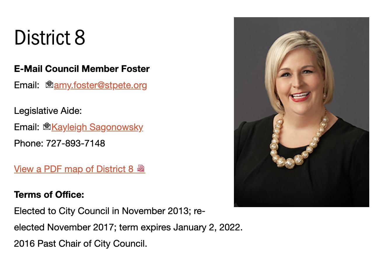 City Council Rep.