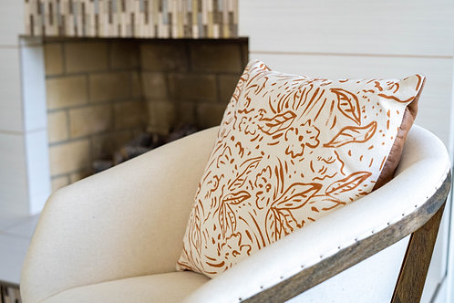 Gold Sequence Pillow