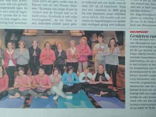 Prabha Yoga Studio in de krant