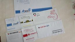 Конверты с логотипом в Абакане