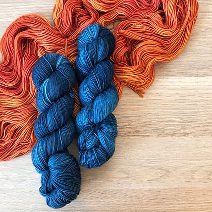 Bilberry - Merino Sock