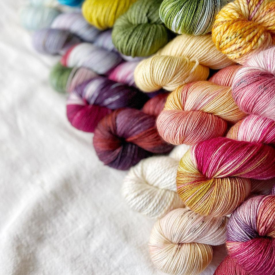 Merino Sock Hand Dyed Yarns