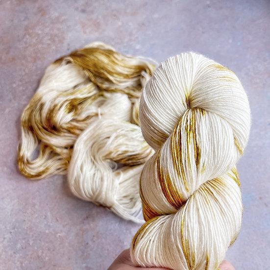 Caramel Swirl - Merino Sock