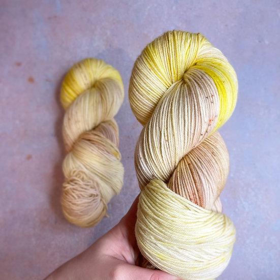 Lemon Muffin - Merino Sock