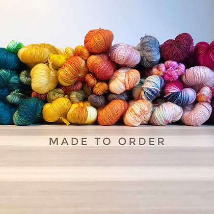 Made to Order - Any Colourway & Any Base