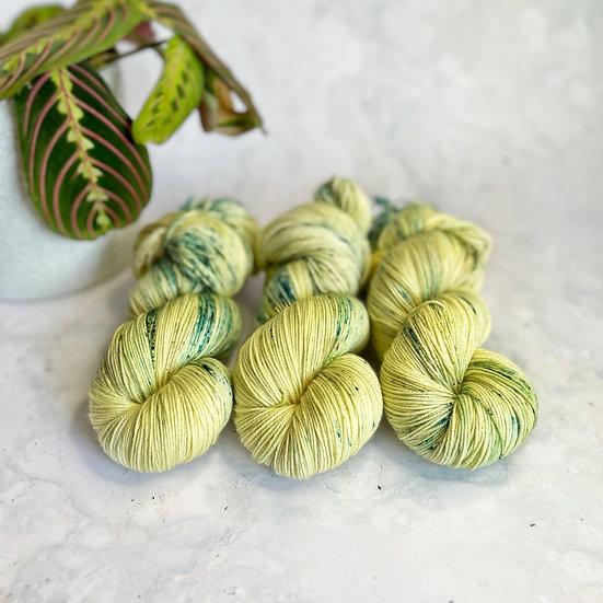 Speckled Frog - Merino Sock