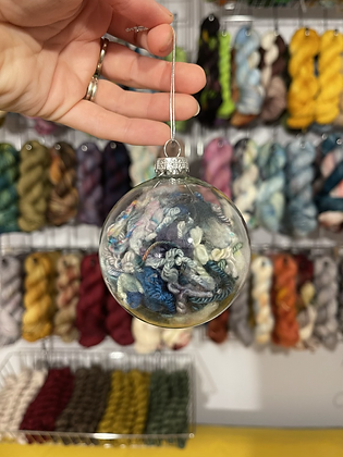 Yarn Christmas Baubles