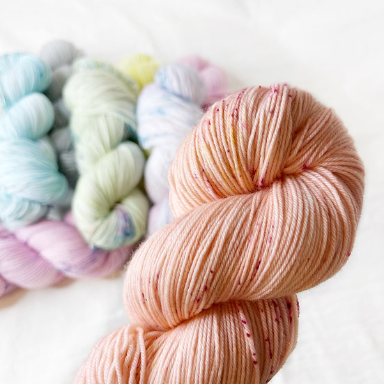 Fizzy Peaches - Merino Sock