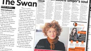 Swan sooths singer's soul - Post Newspaper
