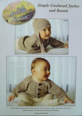 Simple Crocheted Jacket & Beanie