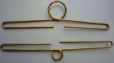 """Brass Bell Pull Hanger 5 1/4"""" (12cm)"""