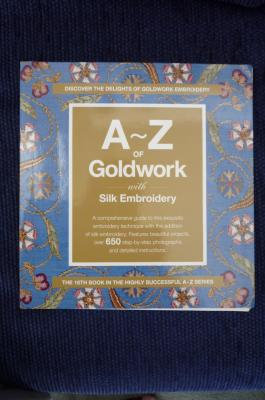 A-Z of Goldwork - out of stock
