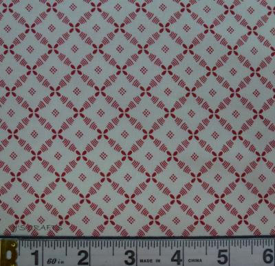 Farmhouse Reds - Lattice Ivory/red
